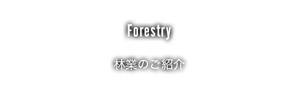 林業のご案内